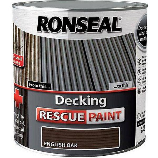 Ronseal Decking Rescue Wood Paint Brown 2.5L