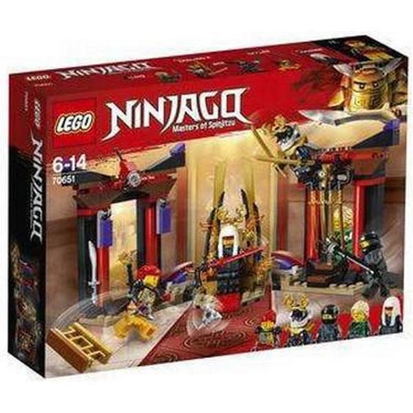 Lego Ninjago Opgør i Tronsalen 70651