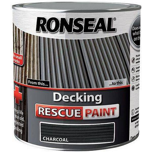 Ronseal Decking Rescue Wood Paint Black 2.5L