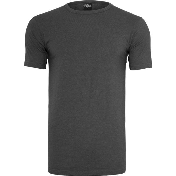 Urban Classics Fitted Stretch Tee - Charcoal