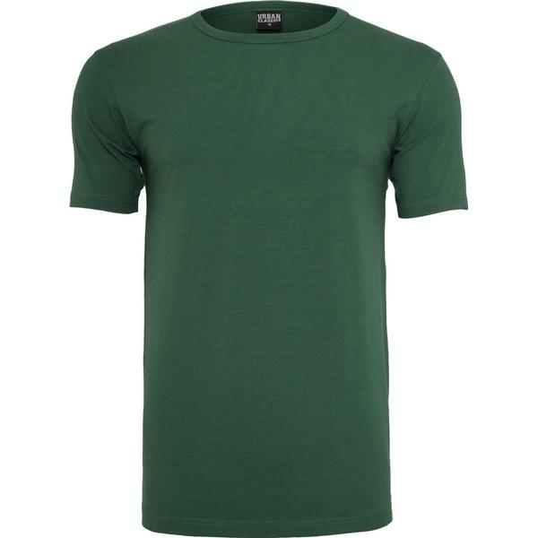 Urban Classics Fitted Stretch Tee - Forest