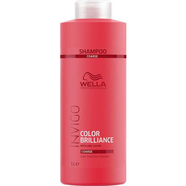 Wella Invigo Color Brilliance Color Protection Shampoo Coarse Hair 1000ml