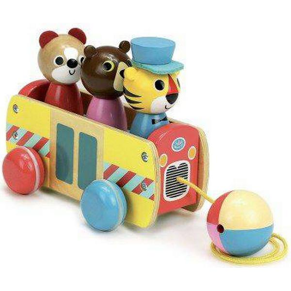 Vilac Bus Pull Toy by Ingela P.A. 7736