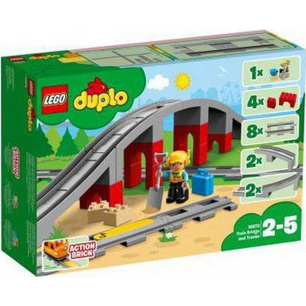 Lego Duplo Train Bridge & Tracks 10872