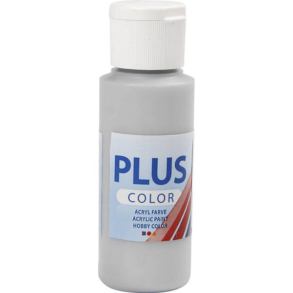 Plus Acrylic Paint Silver 60ml