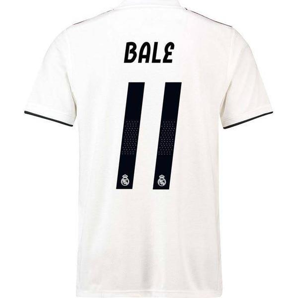 Adidas Real Madrid Home Jersey 18/19 Bale 11. Sr