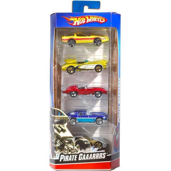 Mattel Hot Wheels 5 Car Pack