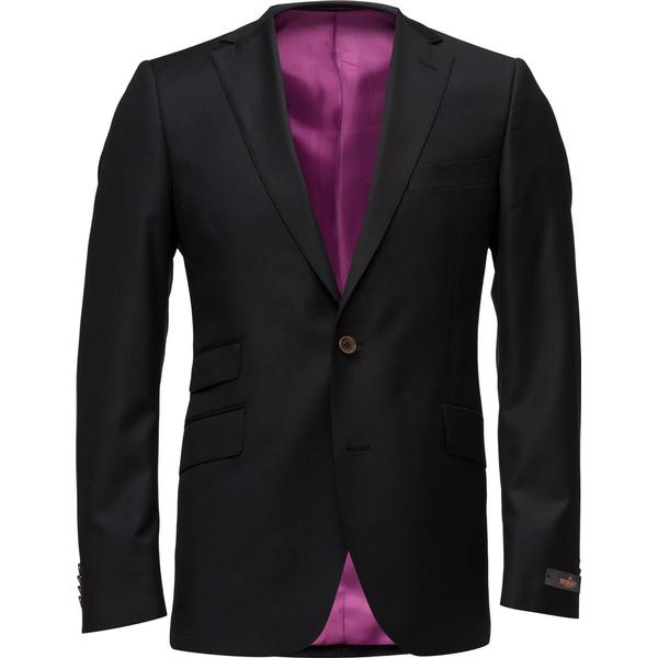 Morris Paul Solid Suit Blazer - Black