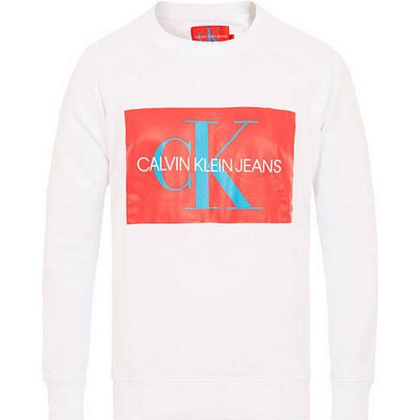 Calvin Klein Logo Sweatshirt Bright White