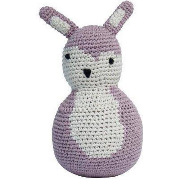 Sebra Hæklet tumling kanin