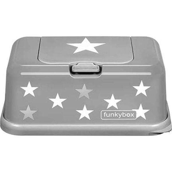 Funkybox Easy Wipe Dispenser Grey Star