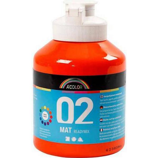 A Color Acrylic Paint Mat Readymix 02 Orange 500ml