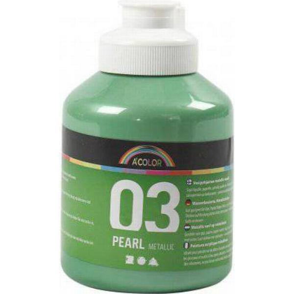 A Color Acrylic Paint Pearl Metallic 03 Light Green 500ml