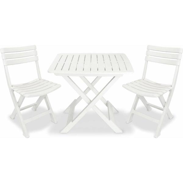 vidaXL 43581 Cafésæt, 1 borde inkl. 2 stole