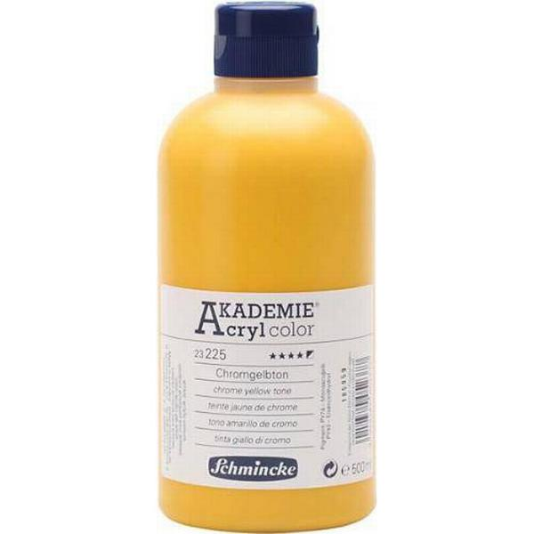 Schmincke Akademie Acryclic Color Yellow 500ml