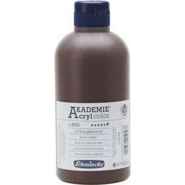 Schmincke Akademie Acryclic Color Brown 500ml