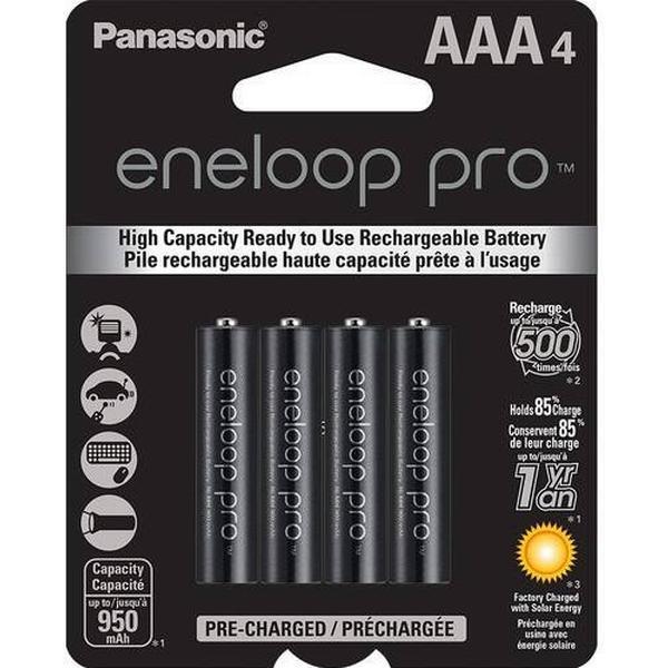 Panasonic Eneloop Pro AAA 4-pack