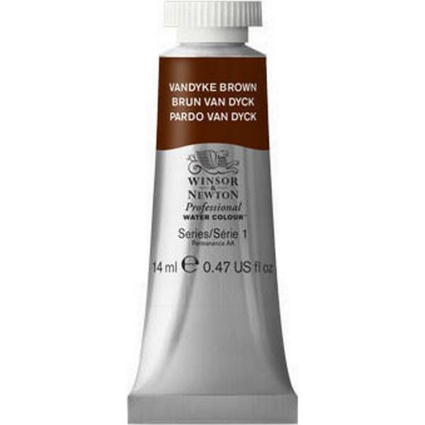 Winsor & Newton Professional Water Colour Vandyke Brown 14ml