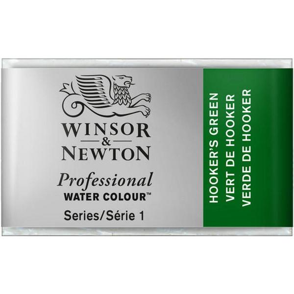 Winsor & Newton Professional Water Colour Hooker's Green Whole Pan