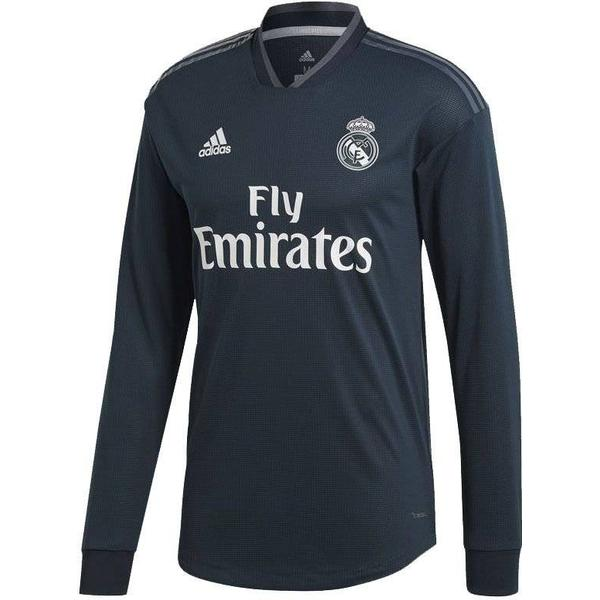 Adidas Real Madrid Away LS Jersey 18/19 Youth