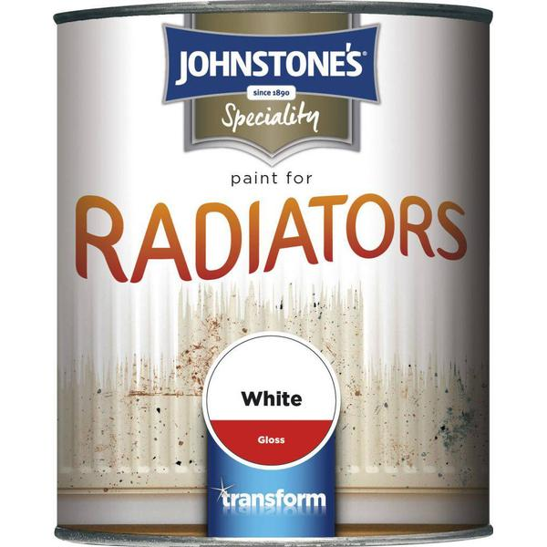 Johnstones Speciality Radiator Paint White 0.75L