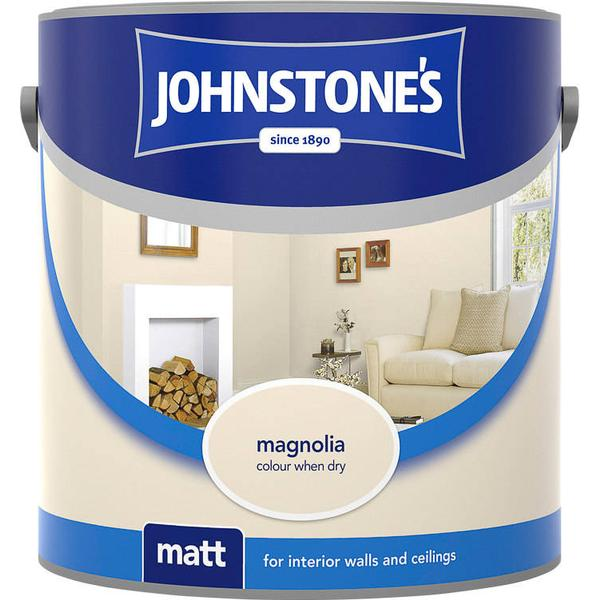 Johnstones Matt Wall Paint, Ceiling Paint Beige 10L