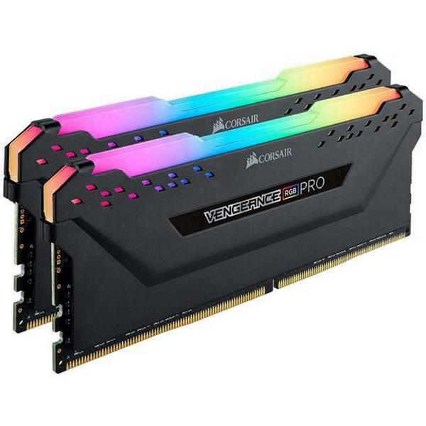 Corsair Vengeance RGB LED Pro Black DDR4 3200MHz 2x8GB (CMW16GX4M2C3200C16)