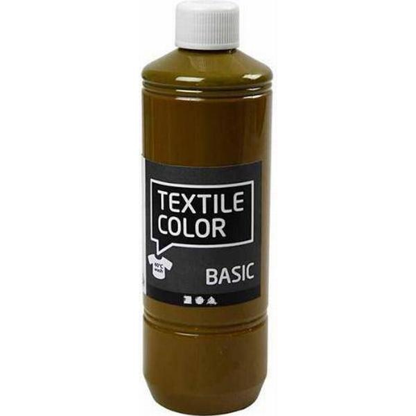 Textile Color Paint Basic Olive Brown 500ml