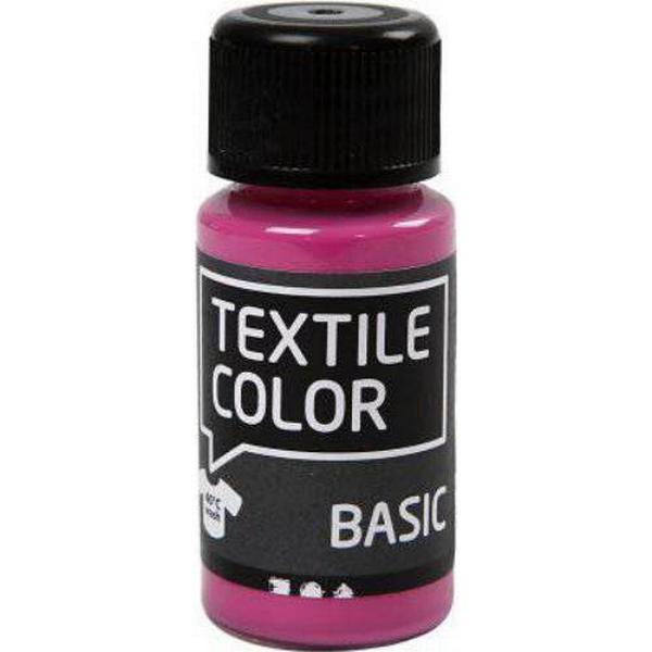 Textile Color Paint Basic Pink 50ml