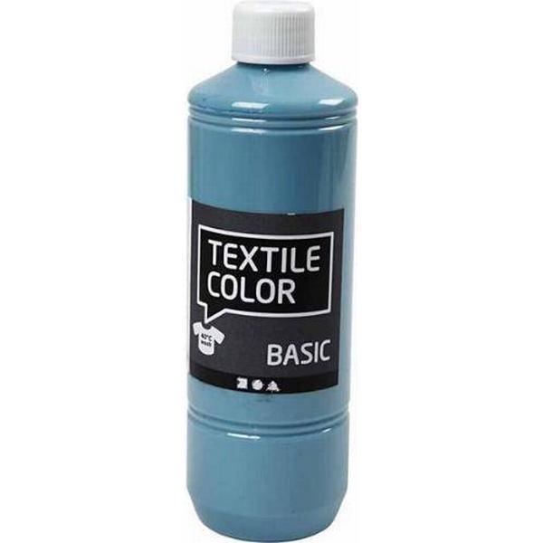 Textile Color Paint Basic Pigeon Blue 500ml