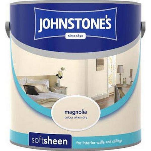 Johnstones Soft Sheen Wall Paint, Ceiling Paint Beige 5L