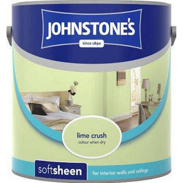 Johnstones Soft Sheen Wall Paint, Ceiling Paint Green 2.5L