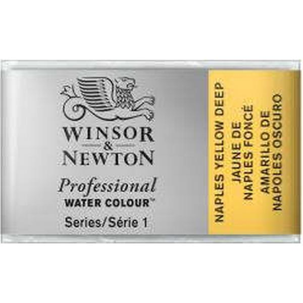 Winsor & Newton Professional Water Colour Naples Yellow Deep Whole Pan