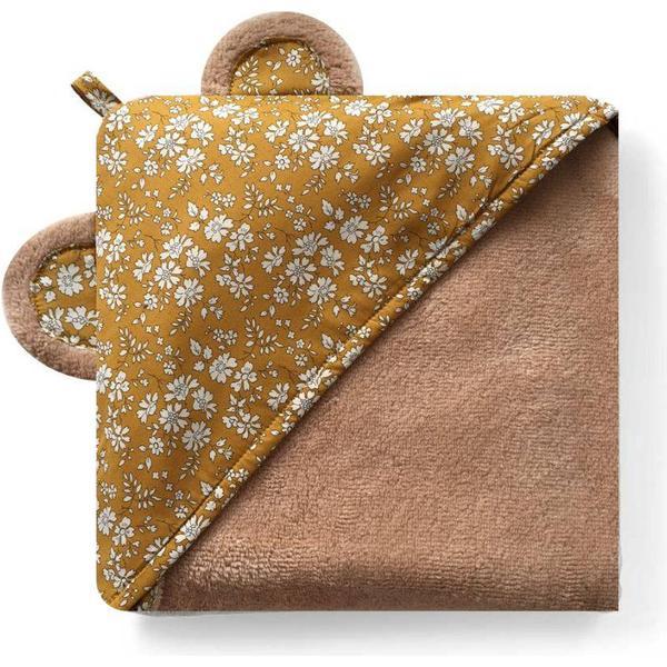 Homeyness Babyhåndklæde Capel Mustard