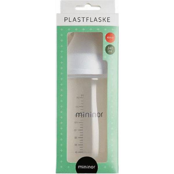 Mininor Plastflaske 240ml 4 mdr+