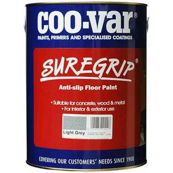Coo-var Suregrip Anti-Slip Floor Paint Grey 5L