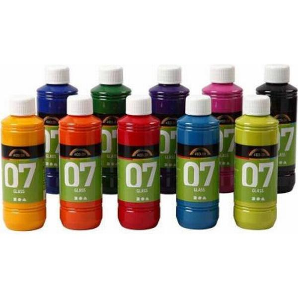 A Color Glass Paint 10x250ml