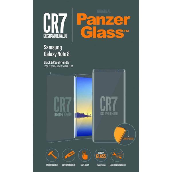 PanzerGlass CR7 Screen Protector Black (Samsung Galaxy Note 8)