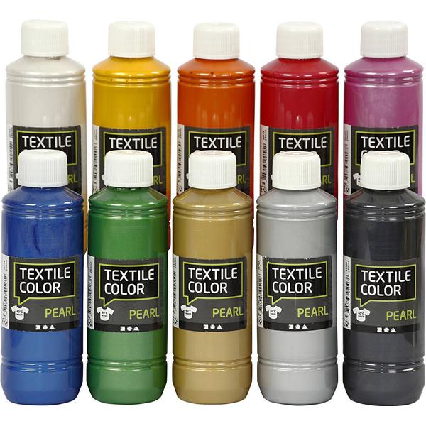 Textile Color Paint Pearl 10x250ml