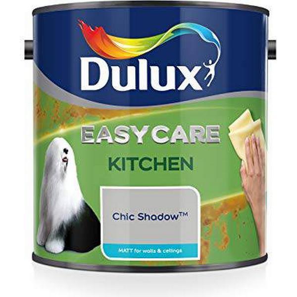 Dulux Easycare Kitchen Matt Wall Paint, Ceiling Paint Grey 2.5L