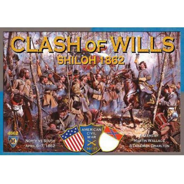 Mayfair Games Clash of Wills Shiloh 1862