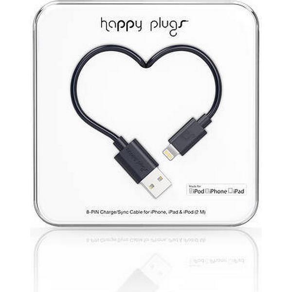 Happy Plugs USB A - Lightning 2m