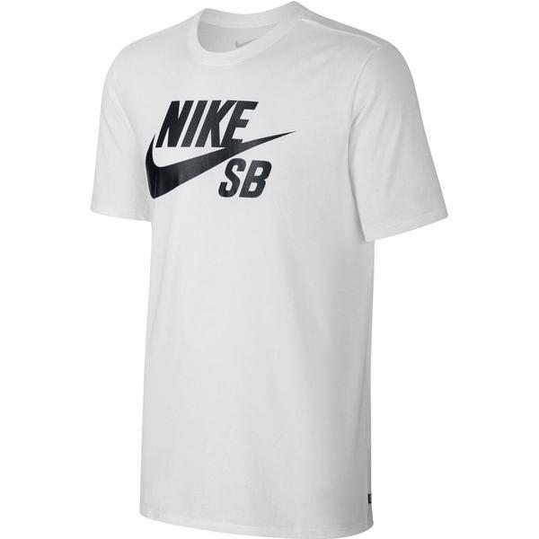 Nike SB Logo T-shirt White/White/Black