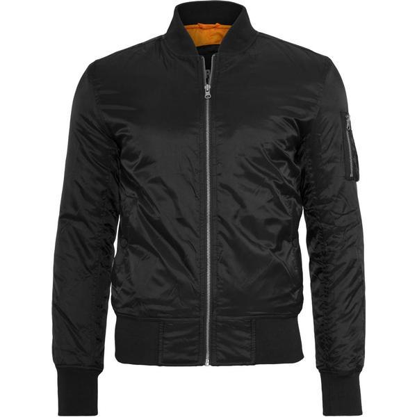 Urban Classics Basic Bomber Jacket - Black