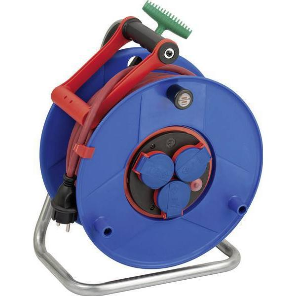Brennenstuhl Garant ROL'UP Bretec 1328930 3-way 40m Cable Drum