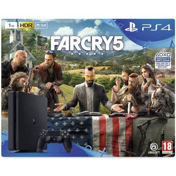 Sony PlayStation 4 Slim 1TB - Far Cry 5