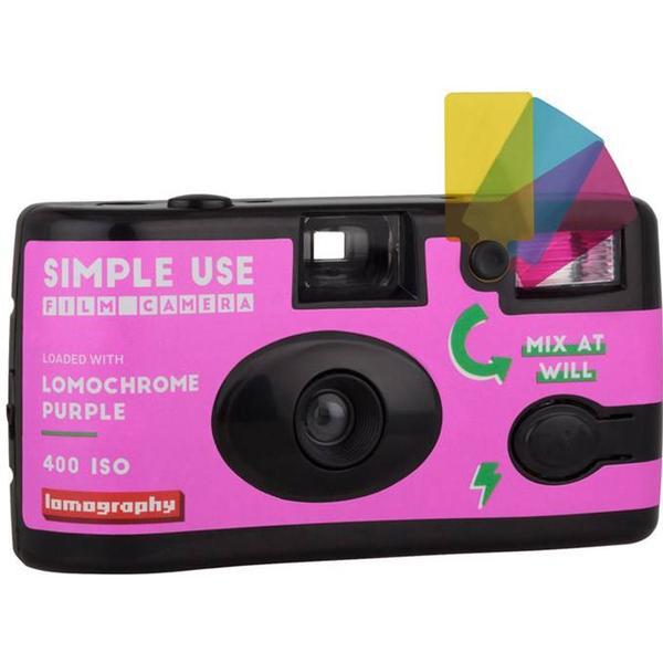 Lomography Simple Use Camera Lomochrome Purple