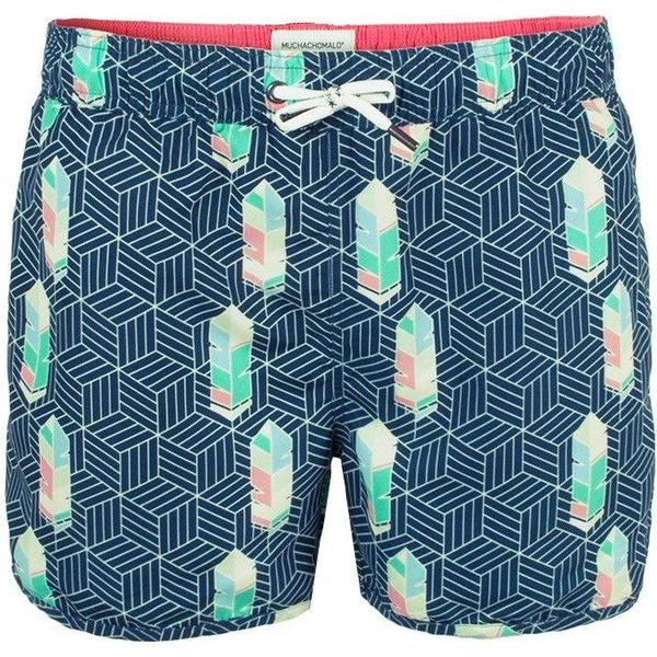 Muchachomalo Free Like Bird Boardshorts Blue Patterned