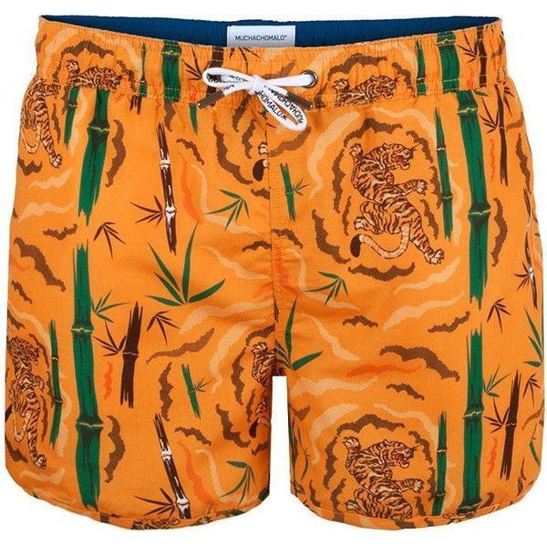 Muchachomalo Tiger Wood Boardshorts Orange Patterned