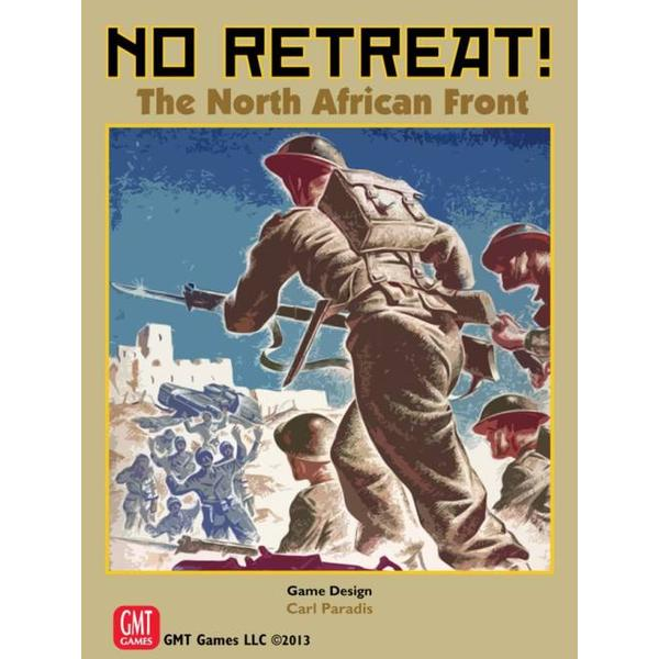 GMT Games No Retreat: The North African Front